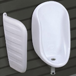 Half Stall Urinal With Partision
